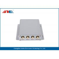 Wholesale Medium Power Square RFID Reader RS232 , Four Channels RFID Antenna Reader from china suppliers
