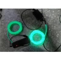 Wholesale Waterproof Neon Green EL Lighting Wire 3.2mm EL Illuminant Rope from china suppliers