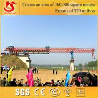 Wholesale 100T Trussed type bridge girder launching gantry from china suppliers