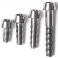 Wholesale DIN titanium screws /bolts and nuts/wheels bolts titanium ti 6al 4v/motorcycle equip from china suppliers