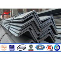 Wholesale Hot Dip Galvanized 8ft-19.6ft Steel Angle Channel For Electric Power Tower Construction from china suppliers