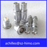 Wholesale wholesale supplier single pin solder type push self-locking pull lemo 1S series coaxial connector from china suppliers