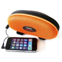 Wholesale Outdoor Compact Bluetooth Bike Speaker Bag Stereo 3.5mm Audio Input from china suppliers