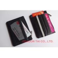 Wholesale Credit Cards Holder with change pocket , Business Card Cases ,Made of Leather, PVC or PU from china suppliers