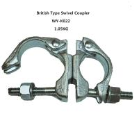 Wholesale Original , silver 360 Degrees scaffold swivel coupler / clamps Q235 from china suppliers
