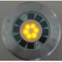 BJ-14 stainless steel Round Solar Brick with 6 LED