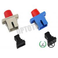 China CATV / FTTH Fiber Optic Adapter / Plug No Shutter , Fiber Optic Cable Connectors on sale