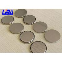 Wholesale Hearing Aid Li - MnO2 Coin Cell Battery , Long Life 3v Lithium Battery Cr2025 from china suppliers
