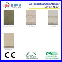 Wholesale raw and melamined chipboard partical board from china suppliers