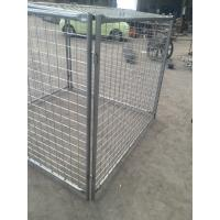 Wholesale Temporary Rubbish cage for sale 1500mm x 1800mm width x 1800mm Design for Australia Sydney Rubbish Cage weld wire from china suppliers