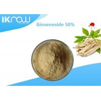 Wholesale Solvent Extraction Natural Plant Ginsenoside / 50% Panax C.A. Meyer Ginseng Powder from china suppliers