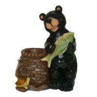 Wholesale Bear Fish Turtle Outdoor Garden Planters , Animal Shaped Garden Planters from china suppliers