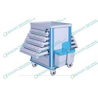 Wholesale ABS plastic and Steel hospital dressing trolley with Litter Basket and Drawers from china suppliers