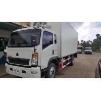 Wholesale 2017s SINO TRUK HOWO 4*2 RHD 3-5tons refrigerated truck for sale, HOT SALE! bottom price HOWO 5tons cold room truck from china suppliers