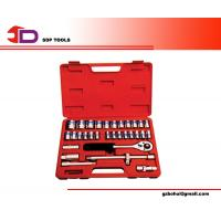 Wholesale 32pcs Socket Wrench Master Mechanic Tool Set With Mirror Finished, Chrome Plated from china suppliers