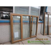 Wholesale Wood Clad Aluminum Window & Door For  Villas/Apartment, with Insulating Double Glass from china suppliers