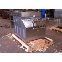 Wholesale Dairy Homogeniser Machine For Plate milk pasteurizer and Homogenizing from china suppliers