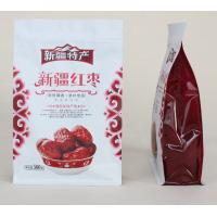 Wholesale 500g Custom Dried Fruits Stand Up Pouch Quad Seal Red Dates Package from china suppliers