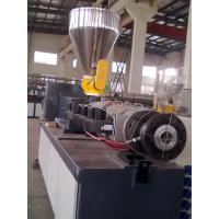 Wholesale SJZ65/132 CONICAL DOUBLE SCEW PVC/WPC EXTRUDER from china suppliers
