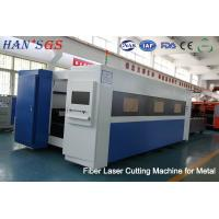 Quality 500W to 3000W Fiber Laser Cutter Sheet Metal Laser Cutting Machine 100, 000 Hours  Lifetime for sale