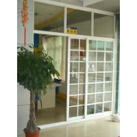 Wholesale 1.4mm profile thickness white, balck gray aluminum sliding glass doors with fly screen from china suppliers