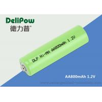 Wholesale Convenient 800mAh Aa Nimh Rechargeable Battery With Wide Application from china suppliers