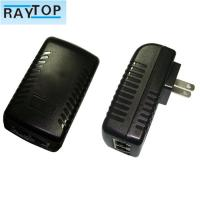 Wholesale 24w Wall Mount POE Power Adapter Power Supply Support 802.3af/At 10 / 100Mbps from china suppliers