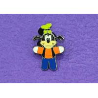 Wholesale Custom Hard Lapel Enamel Pins Iron With Nickel Plating For Cartoon Dog from china suppliers