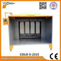 Buy cheap Open Four Filters Powder Painting Booth PLC control Box  Economic Powder Saving from wholesalers