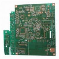 Buy cheap Four-layered PCB, Made of FR4 Material with Immersion Gold and 1.2mm Thickness, Used for Power Suppl from wholesalers
