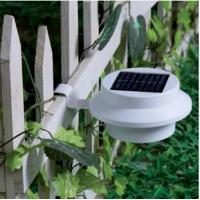 Wholesale Outdoor 3 Led Solar Panel Lamp For Garden Yard Fence Gutter Solar Lights Waterproof from china suppliers