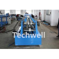 Wholesale CZ Shaped Purlin Roll Forming Machine With 17 Forming Station TW-CZ300 from china suppliers