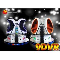 Wholesale Rotating Platform VR Chair Virtual Reality Experience 9D VR Egg Cinema from china suppliers