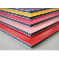 Wholesale Anodized / Brushed Aluminum Composite Panel Non Toxic Polyethylene Core from china suppliers