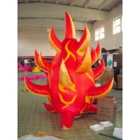 Wholesale C-09 Inflatable Fire, Inflatable Light Cone For Party And Wedding from china suppliers
