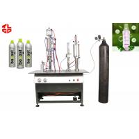 Wholesale Semi Automatic Aerosol Can Filling Equipment For Oxygen Fresh Air Spray from china suppliers