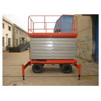 Wholesale Anti - Skid 8M Self Propelled Scissor Lift 2.45 * 1.35m Platform Size For Airport from china suppliers