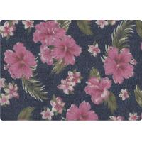 Wholesale Wonderful Flower Printed 100 Cotton Denim Fabric Luxury Outdoor Fabric from china suppliers