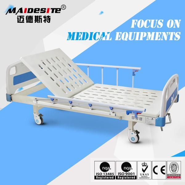 Adjustable Beds Manufacturers : Antique manufacturer single iron manual adjustable bed