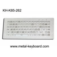 Wholesale Water resistant stainless steel Industrial Metal Keyboard without mouse , 85 keys from china suppliers