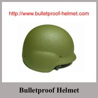 Wholesale Wholesale China Army green Military NIJ IIIA  PASGT Bulletproof helmet from china suppliers