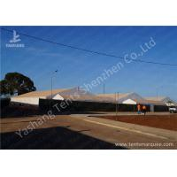 Wholesale 30M Large Clear Span Aluminium Frame Tents White UV Resistant PVC Fabric Top from china suppliers