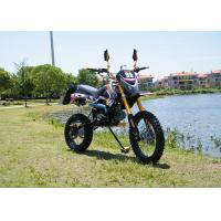 Quality Four - Stroke 110cc Dirt Bike Motorcycle Smart Shape With Strong Compression Ratio for sale