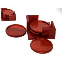 Wholesale Rosewood Cup Coaster set from china suppliers