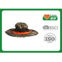 Wholesale Military Style Waterproof Hunting Hat , Camo Fishing Hat Sunshade  from china suppliers