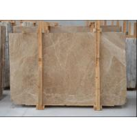 Wholesale Light Cream Engineered Stone Countertop , Polished Marble Tile Kitchen Countertops from china suppliers