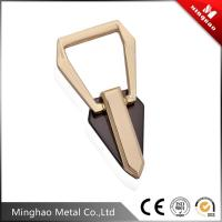Wholesale Good surface finished light gold zinc alloy metal bag buckle,handbag buckle19.41*54.60mm from china suppliers