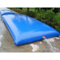 Wholesale PVC bladder inflatable water storage tanks , high strength coated fabric 10500lt from china suppliers