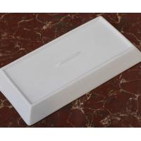 Wholesale Bone China white sushi plate rectangle shape from china suppliers