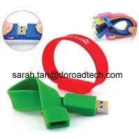 Wholesale Promotional Gifts Silicone Bracelet USB Flash Drive for Free Sample from china suppliers